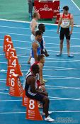 Travel photography:Start of the 100m Men´s Semi-Final, Spain