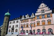 Travel photography:Houses in Bregenz , Austria