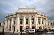Travel photography:The Burgtheater in Vienna, Austria