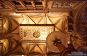 Travel photography:Ceiling inside the Vienna State Opera, Austria