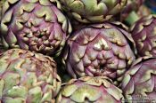 Travel photography:Artichokes at the Vienna Naschmarkt, Austria
