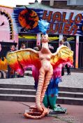 Travel photography:Figure at Vienna´s Prater fun fair, Austria