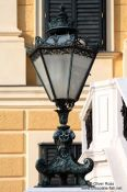 Travel photography:Schönbrunn palace lamp , Austria