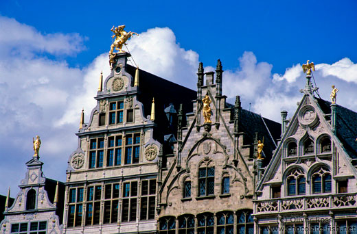 Traditional houses in Antwerp