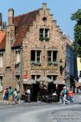 Travel photography:Bruges house, Belgium