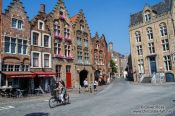 Travel photography:Houses in Bruges, Belgium