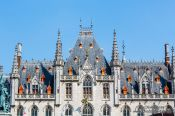 Travel photography:Bruges city hall, Belgium