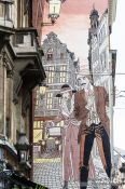 Travel photography:Graffiti in Brussels, Belgium