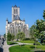 Travel photography:Ghent Saint Nicholas Church, Belgium