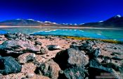 Travel photography:Laguna Blanca, Bolivia