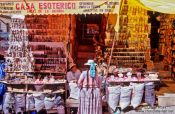 Travel photography:Casa Esoterico, La Paz, Bolivia