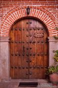 Travel photography:Door in Potosi, Bolivia