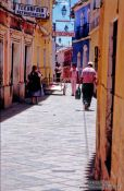 Travel photography:Potosi street scene, Bolivia