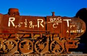 Travel photography:Physics at the Uyuni railway cemetery, Bolivia
