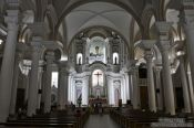 Travel photography:Inside the Catedral de São Sebastião in Ilheus, Brazil