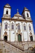 Travel photography:Igreja do Carmo church in Salvador de Bahia, Brazil