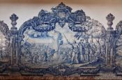 Travel photography:Tiles outside the Igreja de São Francisco Salvador, Brazil
