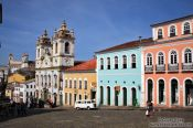 Travel photography:Salvador de Bahia´s Pelourinho district, Brazil