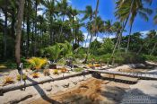 Travel photography:Beach pousada on Boipeba Island, Brazil