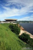 Travel photography:Museum of Contemporary Art in Niterói, Brazil