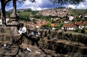 Travel photography:View of Ouro Preto, Brazil