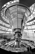 Travel photography:The Reichstag cupola, Germany
