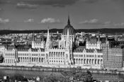 Travel photography:View of the parliament building in Budapest, Hungary