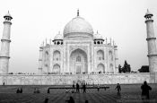 Travel photography:Taj Mahal Mausoleum in Agra, India