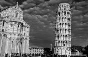 Travel photography:The Duomo (cathedral) and Leaning Tower in Pisa, Italy