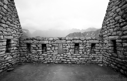 Old house in Machu Picchu