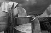 Travel photography:The Bilbao Guggenheim Museum, Spain