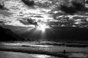 Travel photography:Benijo beach on the Anaga peninsula on Tenerife, Spain