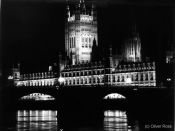 Travel photography:London Westminster by Night, United Kingdom