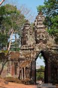 Travel photography:The North gate of Angkor Thom, Cambodia