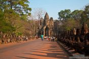 Travel photography:The South Gate at Angkor Thom, Cambodia