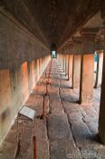 Travel photography:Outer walkway in Angkor Wat , Cambodia