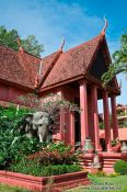 Travel photography:Phnom Penh National Museum , Cambodia