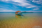 Travel photography:Clear waters off Kaoh Ta Kiev Island near Sihanoukville, Cambodia