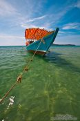 Travel photography:Boat at Kaoh Ta Kiev Island , Cambodia