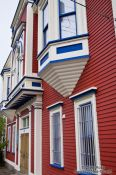 Travel photography:St John´s victoria hall house facade, Canada