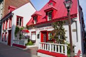 Travel photography:Anciens Canadiens house in Quebec, Canada