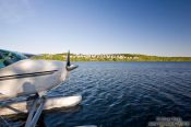 Travel photography:Saint Lawrence river living in Quebec, Canada
