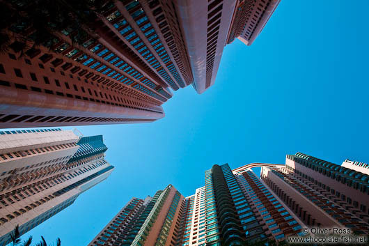 Modern living in Hong Kong´s high-rises
