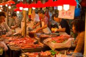 Travel photography:Hong Kong fish market , China