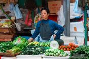 Travel photography:Hong Kong food market , China