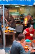 Travel photography:Hong Kong food stall , China