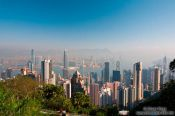 Travel photography:Hong Kong skyline and bay , China