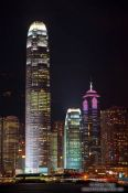 Travel photography:Hong Kong skyline by night , China