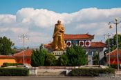 Travel photography:Army memorial in Dali, China