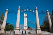 Travel photography:Monument in Kunming, China